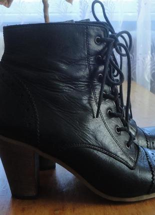 Супер брендовые bergal ботинки сапожки кожа германия