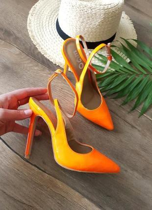 Крутые модные яркие акцентные брендовые туфли босоножки слингбеки лодочки 🔥 германия 🇩🇪