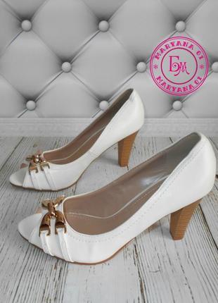 Белые туфельки 36-38