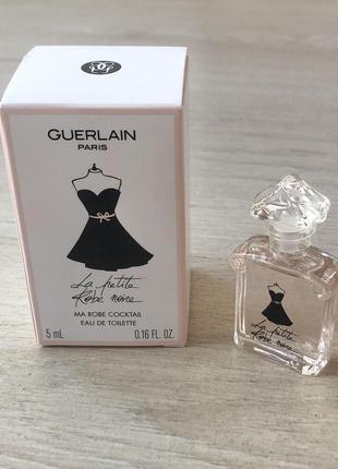 Новые духи миниатюра туалетная вода guerlain la petite robe noire ma robe coctail