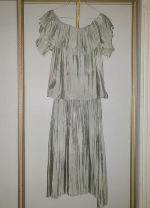 Костюм летний юбка блуза