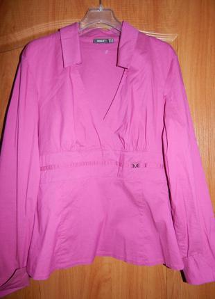 Блуза-рубашка мехх размер l