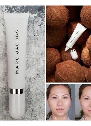Праймер для лица marc jacobs under cover blurring coconut face primer