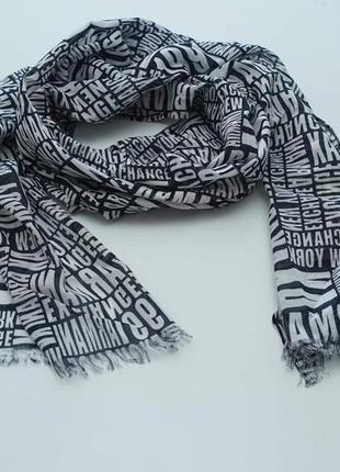 Мужской легкий шарф от armani exchange