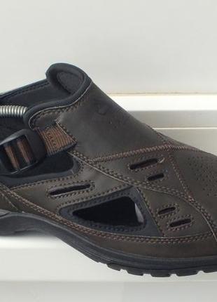 Кожаные туфли сандали timberland. на 42.5 eu размер. стелька 27.5 см