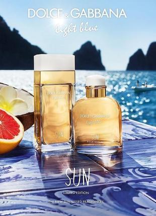 Light blue sun пробник парфюма из дубая,парфюм на лето,свежий парфюм