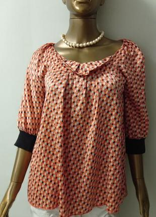 See by chloe обворожительная блуза шёлковая