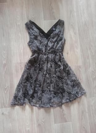 Шифонова сукня, платье