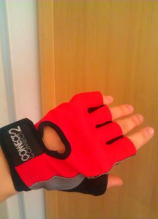 С гелевым наполнителем спортивные перчатки митенки велоперчатки дл тренировок