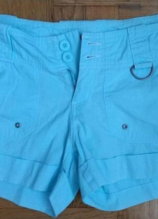 Sale класні голубенькі шорти від yes or no