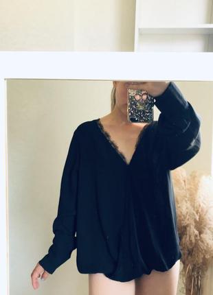 Боди блуза рубашку шифон нарядная батал
