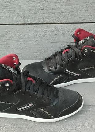 Кожаные кроссовки reebok, 39 р., 25,5-25,7 см