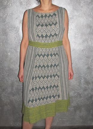 Вискоза платье  monsoon  18 маломер