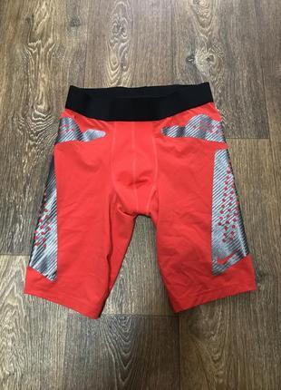 Компрессионные шорты трусы nike