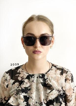 Сонцезахисні окуляри, колір лінз чорний к. 2039