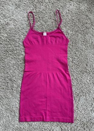 Яркое платье , обтягивающее яркое платье , неоновое платье