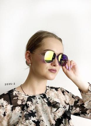Сонцезахисні окуляри - блакитні і жовті к. 2035-2