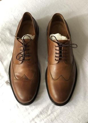 Кожаные туфли navy boot