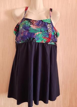 Купальник платье новый  50-52 размера