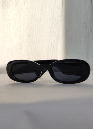 Солнцезащитные очки, полукруглой формы