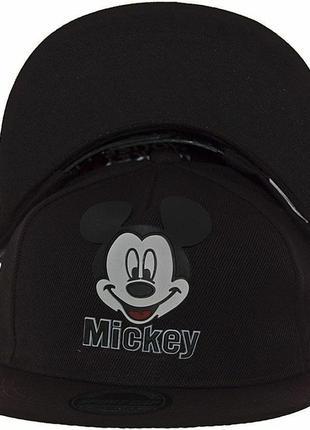 Детская кепка с прямым козырьком с микки маусом унисекс