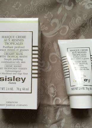 Sisley крем-маска для лица с тропическими смолами