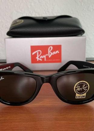 Оригинал очки ray-ban (рей бен, рей бан) wayfarer вайфарер rb 2140 901