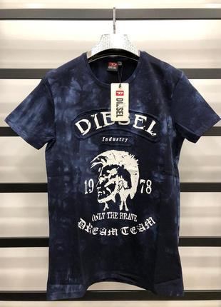 Чоловіча футболка diesel марки