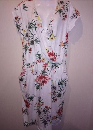 🌺 🌿 🍃 распродажа !!! платье натуральная ткань батал 🌺 🌿 🍃