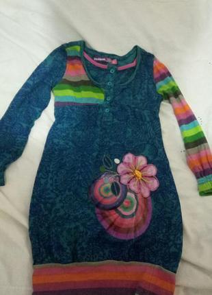 b5a825b4132 Платье desigual на девочку 4-5 лет Desigual