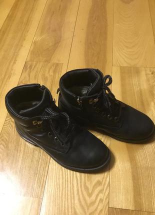 Классные кожаные ботиночки