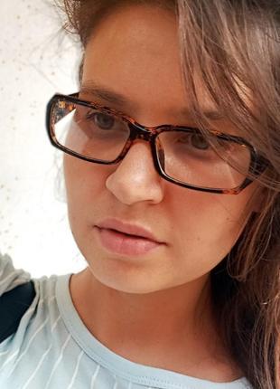 Стильные узкие очки в мраморной оправе витрина цена гораздо ниже закупки