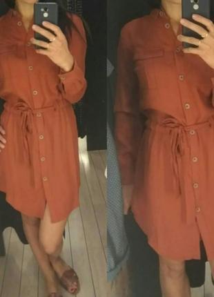 Очень красивое платье - рубашка