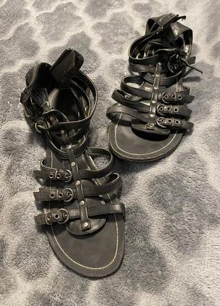 Graceland босоніжки жіночі👌босоножки сандали в стиле «гладиатор»