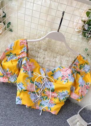 Кроп блуза