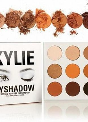 Набор теней kylie the bronze palette 9 цветов