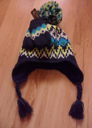 Шапка и рукавички, на 1 годик