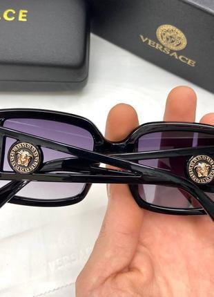 Женские солнцезащитные очки в стиле versace2 фото
