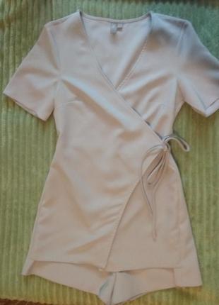 Пиджак шорты костюм комбинезон ромпер