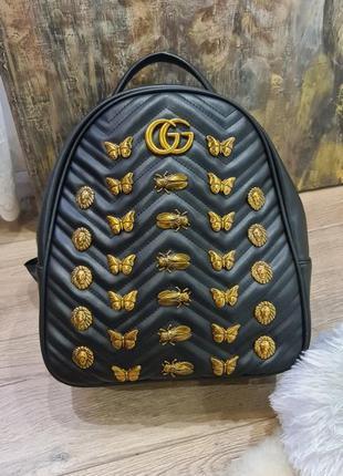 Кожанный рюкзак gucci