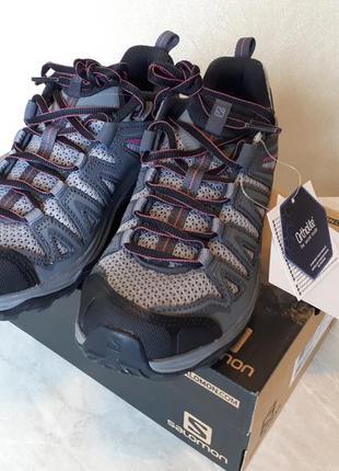 Треккинговые брендовые кроссовки salomon