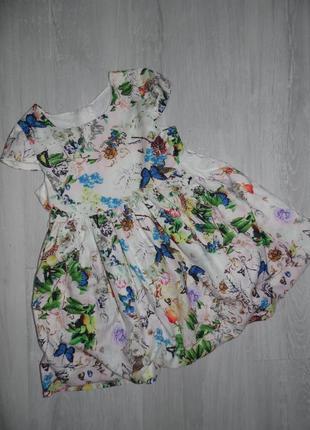 Яркое платье dolce & gabbana на 2г.