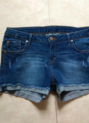 Стильные джинсовые шорты с высокой талией clockhouse, 14 размер.