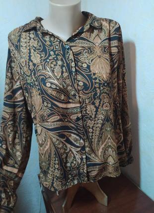 Рубашка з орнаментом від h&m