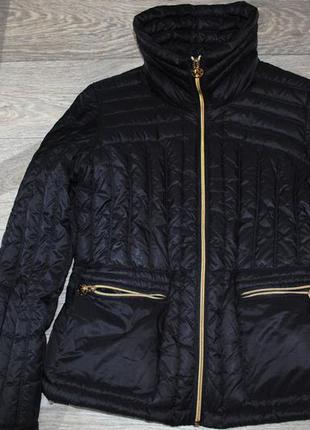 Michael kors куртка пуховик м 38 оригинал приталенная 90% пух крутая
