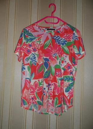 Женская футболка размер 46// 3xl вискоза  -полиэстер