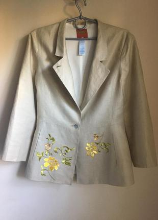 Жакет пиджак kenzo из льна