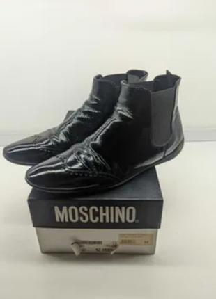 Мужские оригинальные премиум ботинки moschino