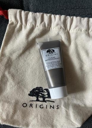 Маска для лица медовая очищающая origins clear charcoal honey mask to purify & nourish