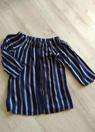 Легкая блуза-рубашка